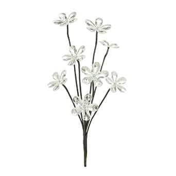 TV Das Original 02992 Bouquet de fleurs lumineuses à LED, alimentés par énergie solaire