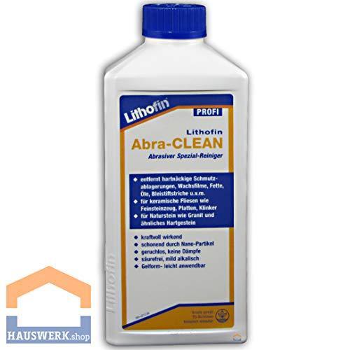 Lithofin Abra-CLEAN 500 ml - SPEZIALREINIGER für professionellen Einsatz - beseitigt Schmutzablagerungen, Fette, Öle