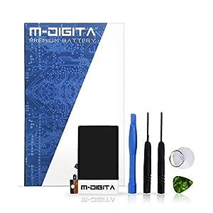 m-Digita Hochleistungsfähiger Ersatz-Akku Batterie für Apple iPhone 3GS