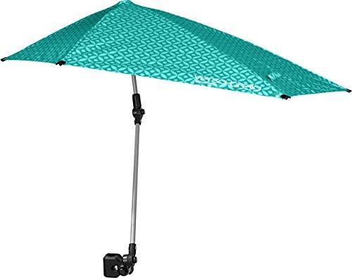 Sport-Brella Versa-brella alle Position Regenschirm mit Universalklemme, türkis