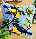 Vervaco PN-0014147 Knüpfkissen 3559 Vögel