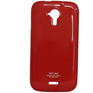 BRAIN FREEZER SOFT SILICON BACK CASE for MICROMAX CANVAS 3 A116 /A116i Red