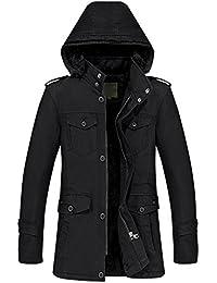 iShine abrigos hombre invierno chaqueta hombre vestir con 3 colores