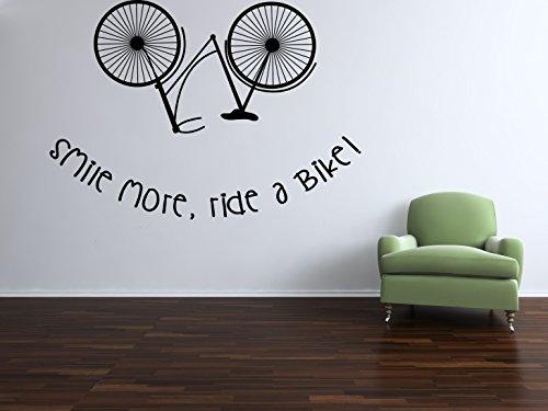 bicicleta-vintage-smile-ms-de-bicicleta-vinilo-negro-mate-adhesivo-para-pared
