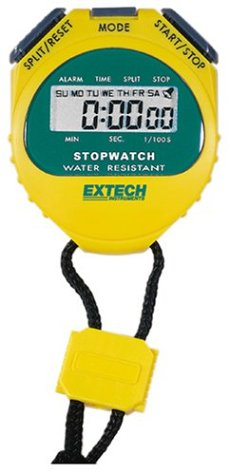 Extech Instruments 365510 Stopwatch/ Clock with Backlit Display