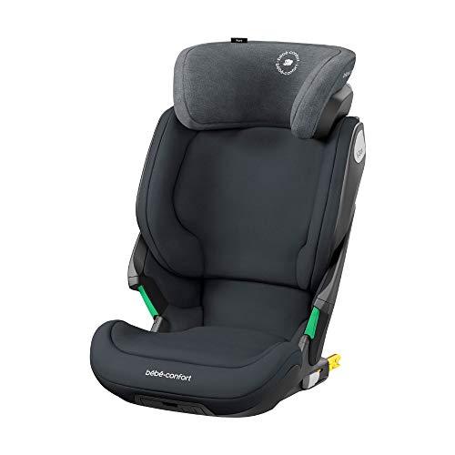 Bébé Confort Kore Seggiolino auto isofix 15-36 kg, per bambini 3.5-12 anni (100-150cm), sicurezza I-Size, protezione laterale SPS plus, colore grafite