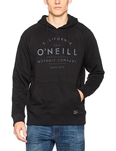 O'Neill Herren Hoodie Sweatshirts, Black Out, M