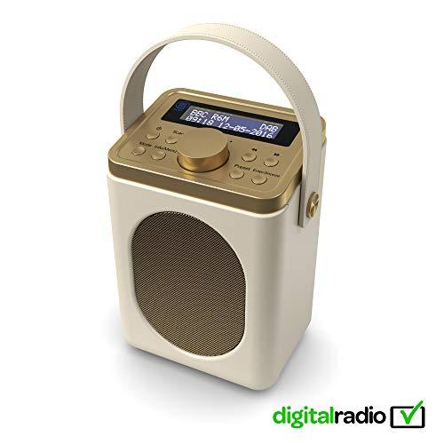 Majority Little Shelford DAB/DAB+ Digital- und UKW-Radio, tragbar, drahtlos, Bluetooth, mi