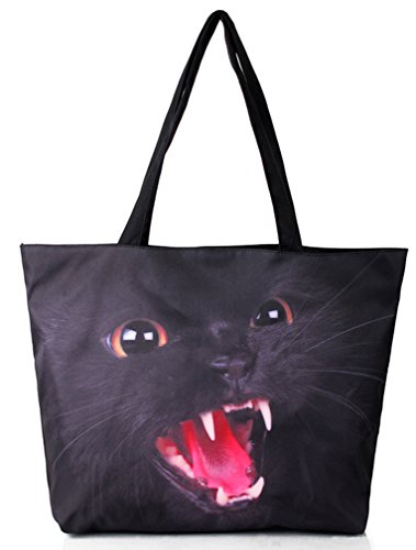 Belsen , Damen Schultertasche mehrfarbig devil Einheitsgröße wildcat