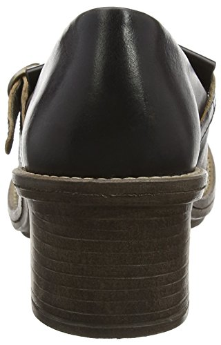 Fly London Chad878fly, Scarpe con Tacco Donna Nero (black/brown 000)