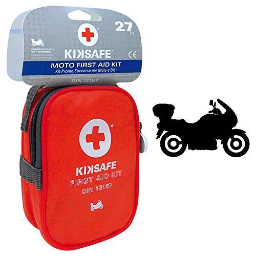 Emergenza e soccorso Kit primo soccorso Per moto e bici DIN 13167