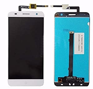 ZTE Blade V7 kompatibles LCD Display Touchscreen Digitizer Weiß + Werkzeugset & Klebeband