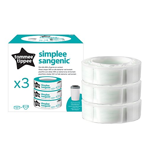 Tommee Tippee Simplee Sangenic - Recambio para el contenedor (pack de 3)