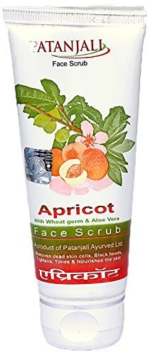 Patanjali Apricot Face Scrub, 60g