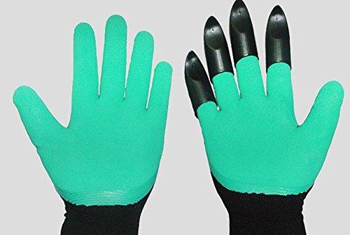 lamm Handschuhe Atmungsaktiv Verschleißfest Schnitt geschnitten Stich Rutschfest wasserdicht Gartenbau / Leben Elastisches gewebtes Tuch Latex-Material , 10 pairs (Camo Dinge)