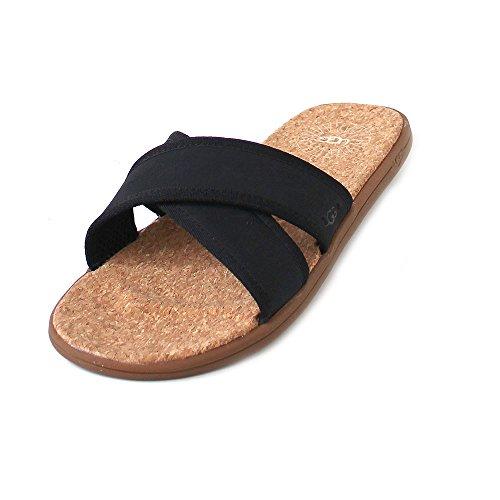 UGG M Seaside Slide Black, Größe:39.5