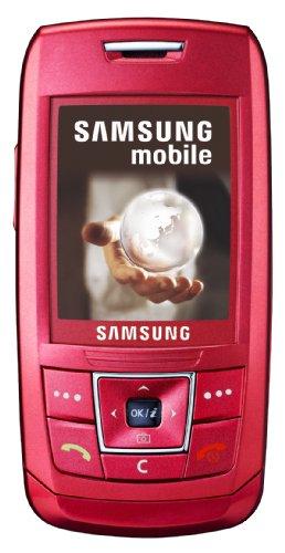 Samsung SGH-E250i pink Handy