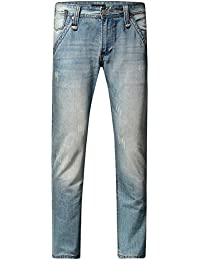 SSLR Jeans Homme Regular Fit en Coton Casual