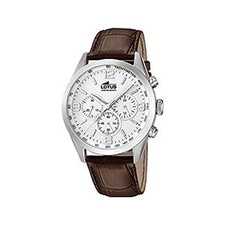 Lotus Reloj Cronógrafo para Hombre de Cuarzo con Correa en Cuero 18155/1