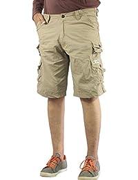 525265a477 Beige Men's Shorts: Buy Beige Men's Shorts online at best prices in ...