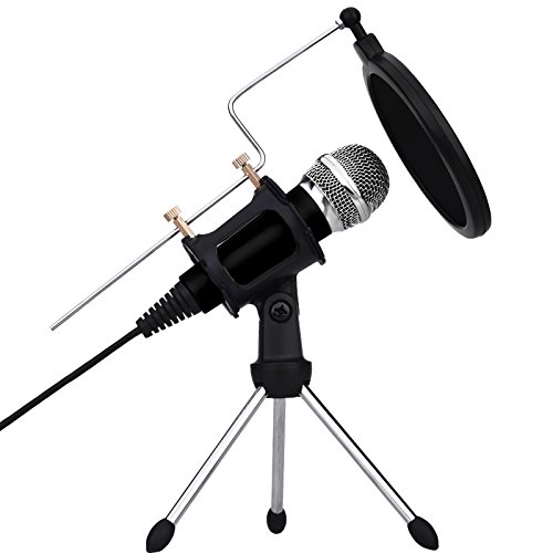 xiaokoa-pc-condenser-microphones-microphone-sets-for-iphone-include-desktop-mic-stand-with-dual-laye