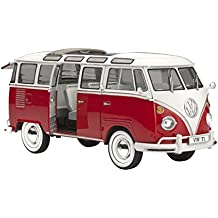 Revell - Maqueta Volkswagen T1 Samba Bus, escala 1:24 (07399)