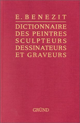 Bénézit, dictionnaire des peintres, sculpteurs, dessinateurs et graveurs, tome 11