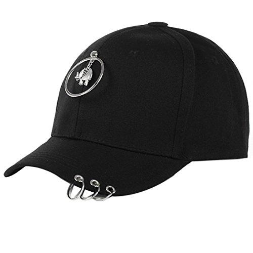 Belsen Gorra de béisbol - para mujer Elefanten Schwarz Talla única