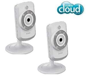D-Link DCS-942L - Videocamera a IP wireless-N, 2 pezzi