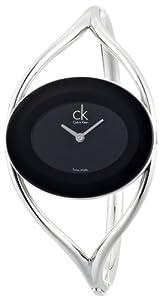 Reloj de mujer Calvin Klein K1A23602 de cuarzo, correa de acero inoxidable color plata de Calvin Klein