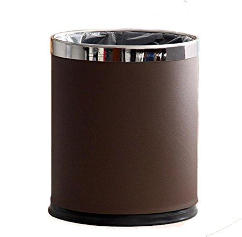 xxffhpoubelle-poubelles-poubelle-a-double-couche-a-la-maison-metal-bureau-dhotel-poubelle-brune-10l