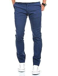 MERISH Chino Slim Fit Men's Pantalons en coton Différentes couleurs Modell 169