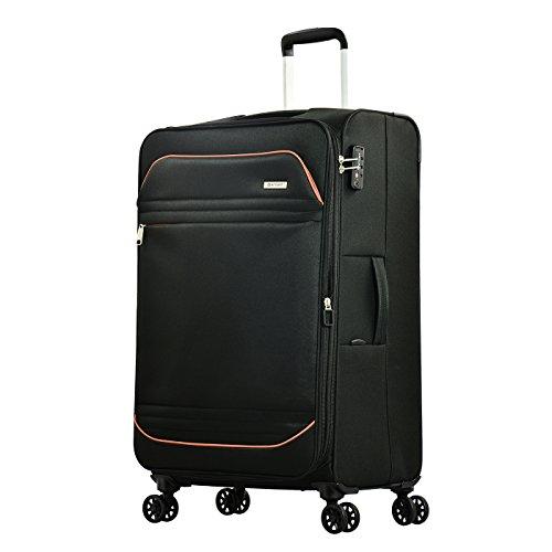Eminent Barcelona, Unisex-Erwachsene Koffer Schwarz Schwarz L