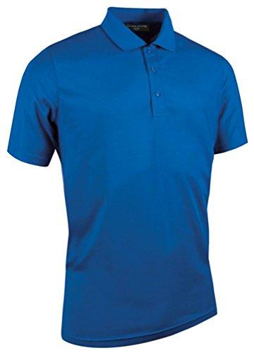 Glenmuir Performance Pique Plain Golf Polo Shirt - 6 Colours / Sml - Ascot - XL - Performance-polyester Pique Polo