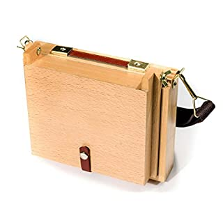 Artcoe 254 x 304 mm Large Pochade Box To Take Painting Boards, Beech