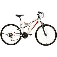 """F.lli Schiano Freedom Bike Homme, Blanc/Rouge, 26"""""""