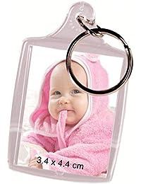 Un porte clés cadre photo - Possibilité de mettre une ou deux photos - Cadeau original pour saint valentin