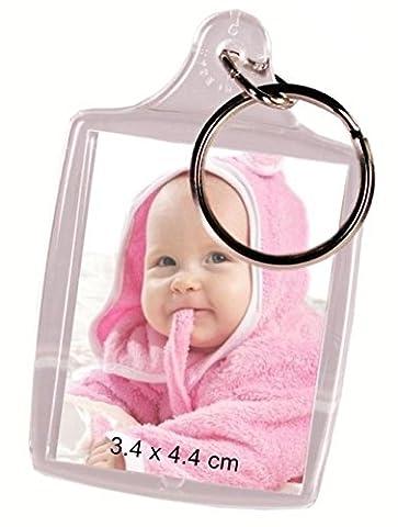 Un porte clés cadre photo - Possibilité de mettre une