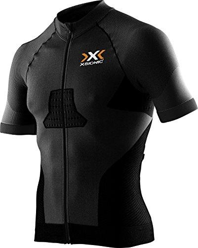 X-Bionic Biking Hombre Race Evo OW SH _ SL. Camiseta, primavera/verano, hombre, color negro/negro, tamaño large