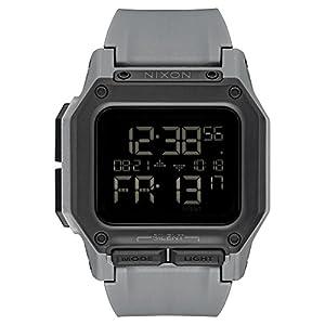 Reloj NIXON Regulus All Black A1180632 Hombre Gris de Nixon