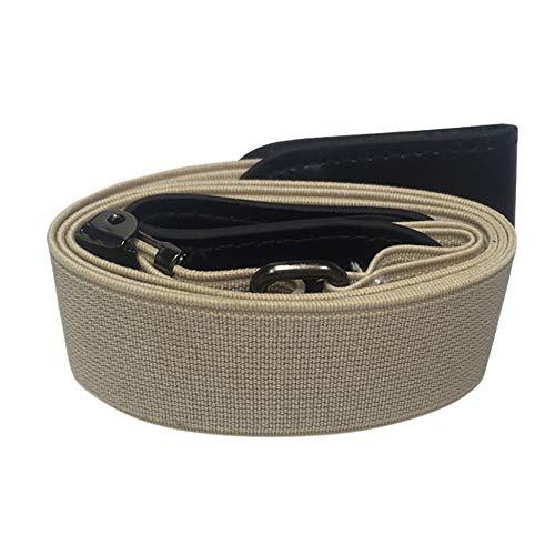 Mitlfuny Black Friay DE Cyber Monday DE,Xmas Gift Buckle-Free Women Men Unsichtbarer elastischer Gürtel für Jeans Keine ()