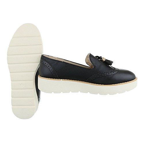 Pantofola Scarpa design Scarpa Bassa Moderna Slitta Nera Ital CCqBUxO6