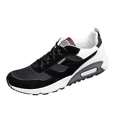 Zarupeng Männer Mesh Turnschuhe Reisen Schuhe Mode Low Ankle Lace-up Sportschuhe Atmungsaktives Leichte Sneaker