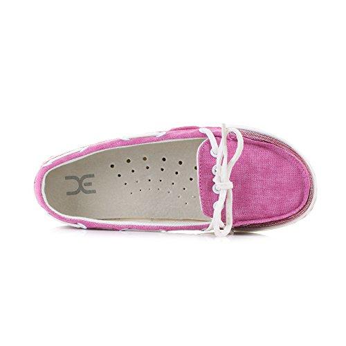 Dude Shoes Women's Moka Tex Woven Aqua purple