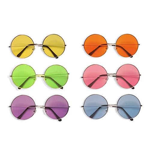 Disfraz hippie John Lennon gafas sol gafas sol retro