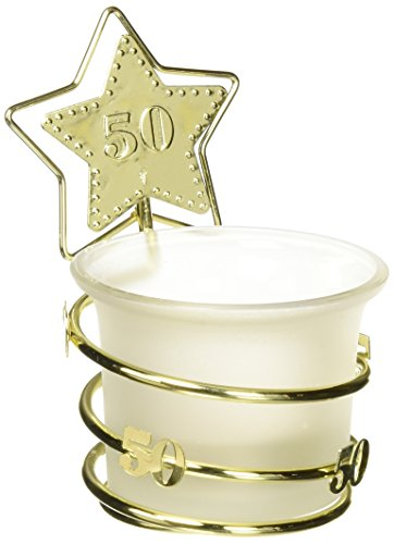 FASHIONCRAFT Design of the gold star 50.o anniversary celebration favors