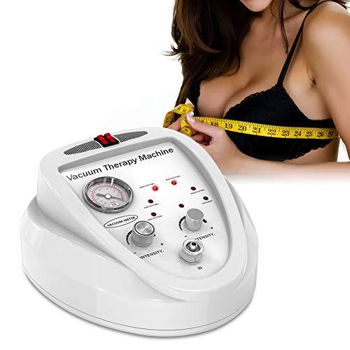 Brustvergrößerungsgerät Multifunktions Körperform Vakuum Schröpfen Therapie Massagegerät mit 24 Tassen und 3 Pumpen(EU)