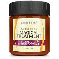 Trattamento Magico Maschera per Capelli 120ML Balsamo per Capelli Olio Idratante Nutriente Profondo Riparazioni per 5…