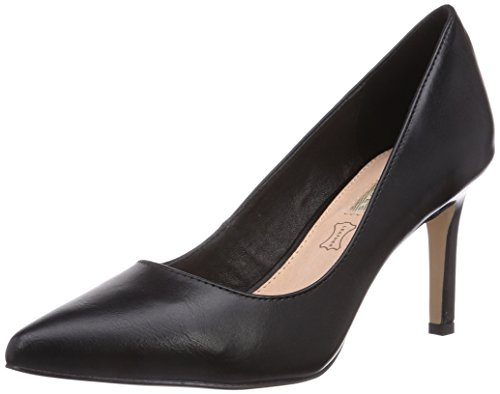 Buffalo Shoes H733-C002A-4 P1735A, Damen Pumps, Schwarz (BLACK 01), 40 EU