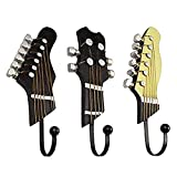 Ruihcury Startseite-Gadgets, Kreative Handtuch Kleiderhaken Gitarre Form Hanger Mode Utility Vintage Harz Haken Wohnkultur